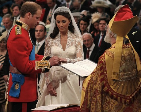 Свадебная клятва принца Уильяма