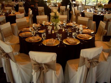 роскошные свадебные столы