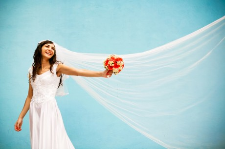 Свадебное платье невесты должно быть белым