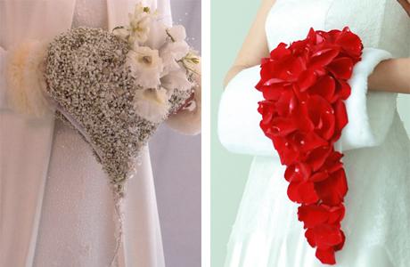 Букет-муфта для невесты
