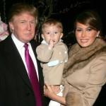 Настоящий магнат недвижимости Дональд Трамп женился на модели Мелании Кнаусс в январе 2005