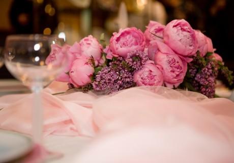 Свадебный прием - стол