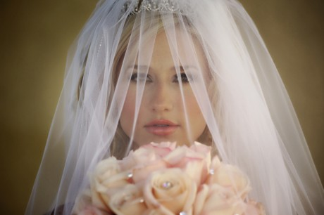 Свадебная фата по типу лица