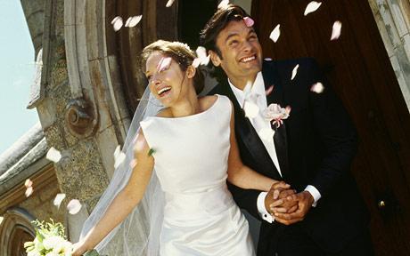 Католическое венчание в церкви