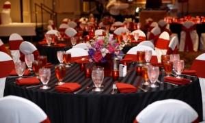 свадьба красный и черный