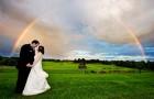 Свадьба в стиле радуги