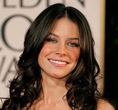 Свадебная прическа Evangeline Lilly