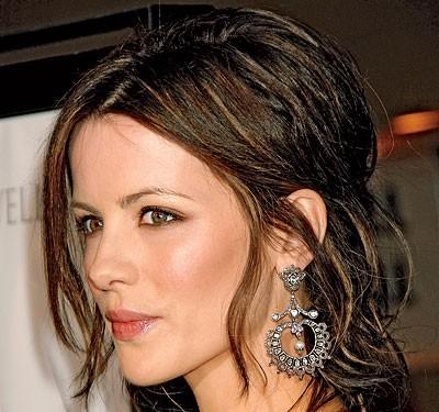 Свадебная прическа Kate Beckinsale
