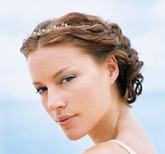 Свадебная прическа - королева пляжа