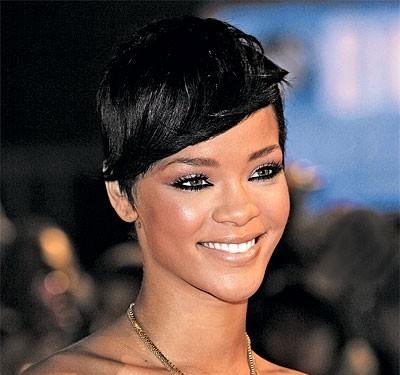 Свадебная прическа Rihanna