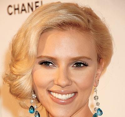 Свадебная прическа Scarlett Johansson
