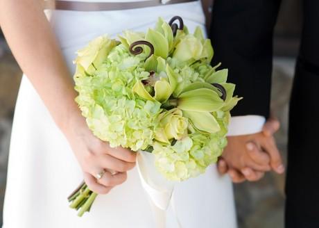 Свадебный букет невесты - свежесть