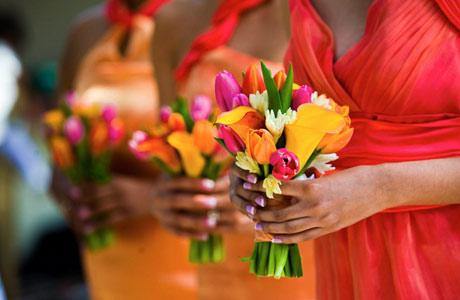 Как сочетать цвета для свадьбы