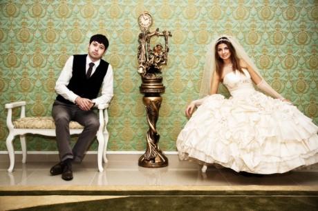 Церемония бракосочетания - в зале ожидания