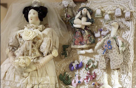 """Свадебный подарок - кукла """"Невеста"""""""