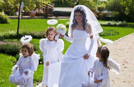 Обязанности детей на свадьбу