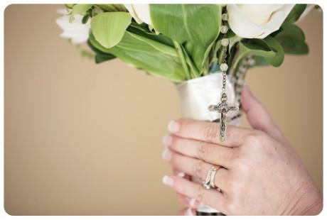 Букет невесты с четками