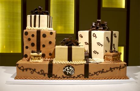 Свадебный торт в стиле