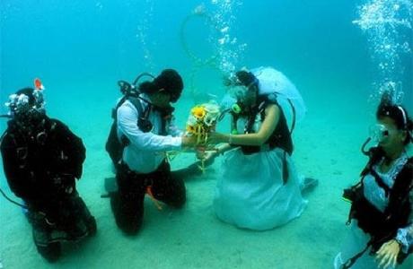 Экстремальная свадьба