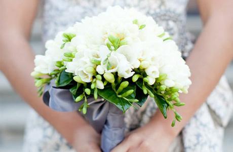 Фрезии для невесты