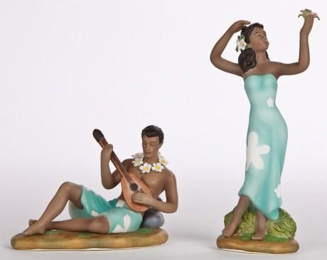 Гавайские фигурки на торт