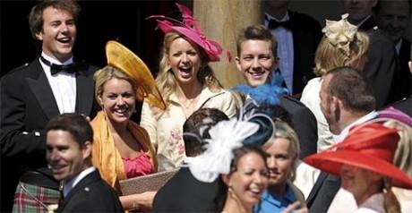 Гости на свадьбе Зары Филлипс