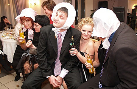 Забавные свадебные конкурсы