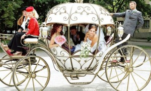 Карета для свадьбы