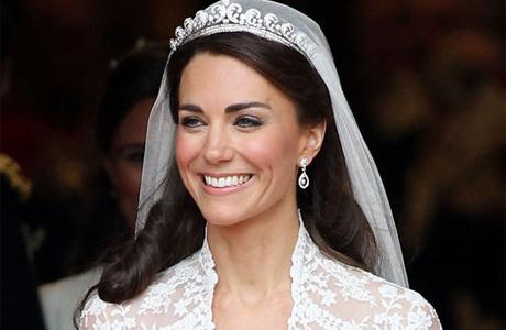 Кейт миддлтон свадебная прическа