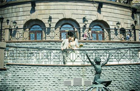 Свадебная прогулка, Киев, Кукольный театр