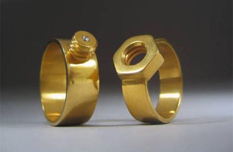 Оригинальный обручальные кольца