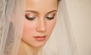 Осенний свадебный макияж