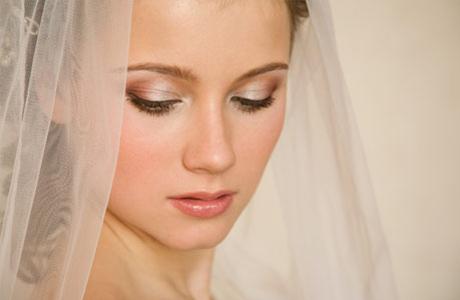 Водостойкий свадебный макияж