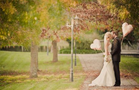 Оформление свадьбы - освещение