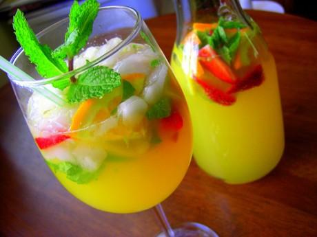 Освежающие напитки на свадьбе