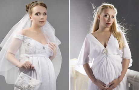 Свадебное платье для беременной