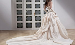 Платье с тонкими бретельками