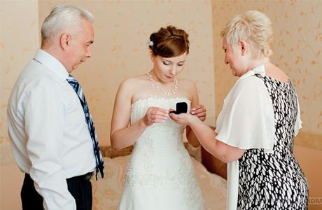 Подарок на свадьбу от родителей
