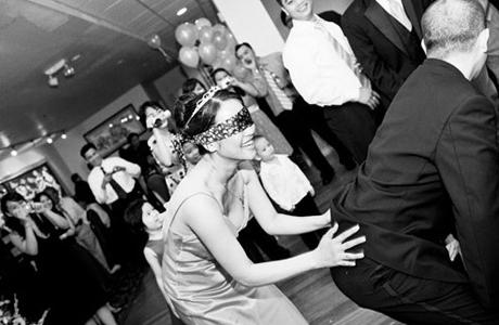 Свадебные конкурсы - с закрытыми глазами