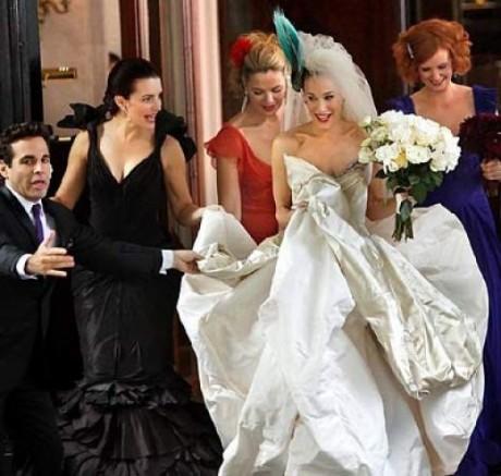 Платье из сериала секс в большом городе