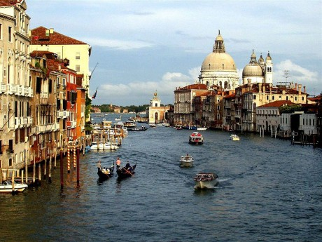 Медовый месяц в Венеции