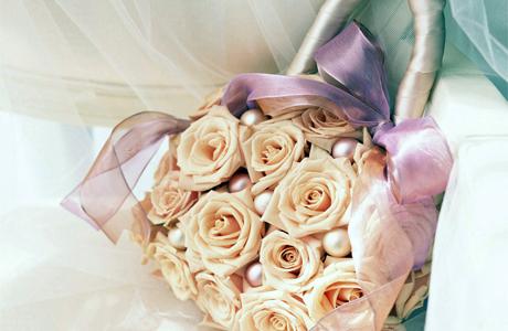 Сумочка из роз