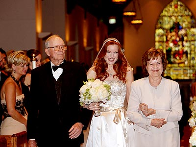 Свадьба Марсии Кросс