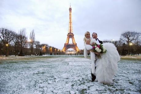 Свадьба в Париже: фото и видео процесса, сценарий 17