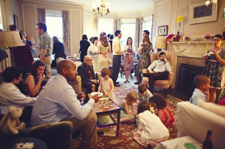 Организация свадьбы дома