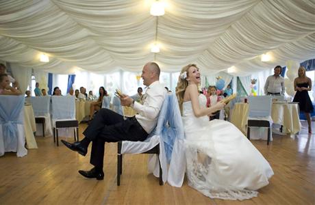 Свадебные конкурсы для молодых