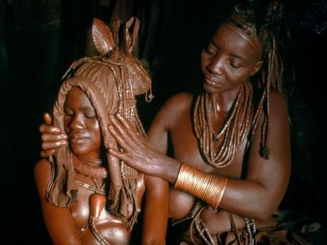 Свадебный головной убор в Намибии