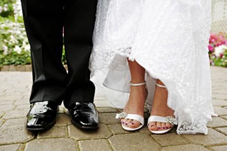 Свадебный педикюр для невесты