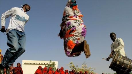 Танцы в Судане