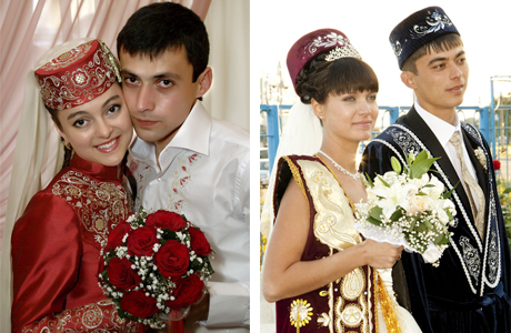 Платье татарской невесты